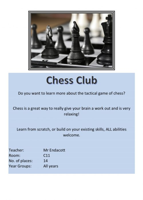 Chess Club 2018