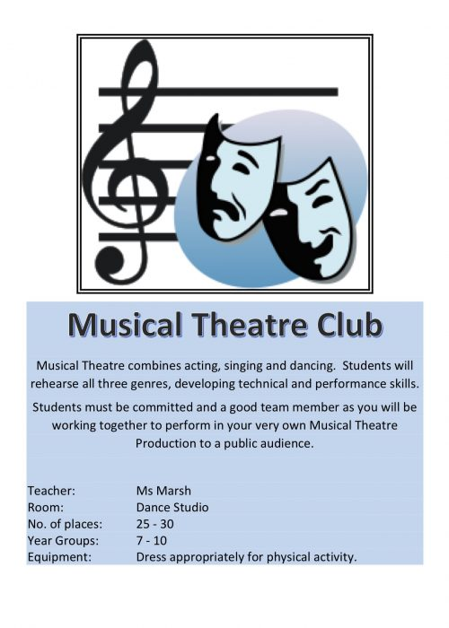 Musical Theatre Club 2018