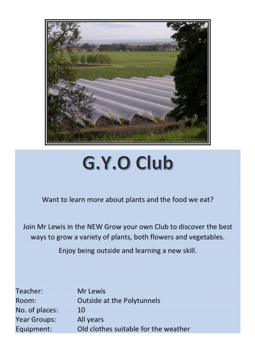Polytunnel Club 2018