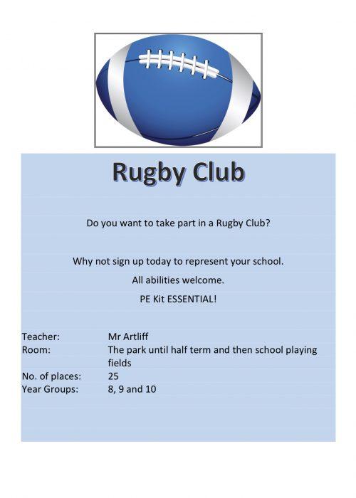Rugby Club 2018
