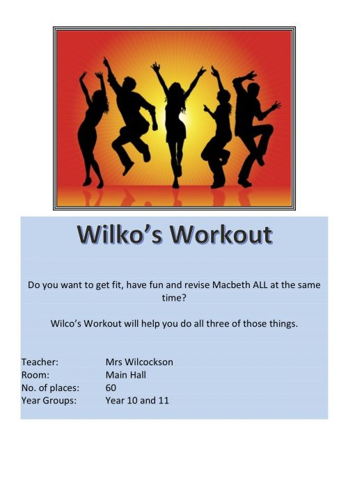 Wikos Workout Club 2018